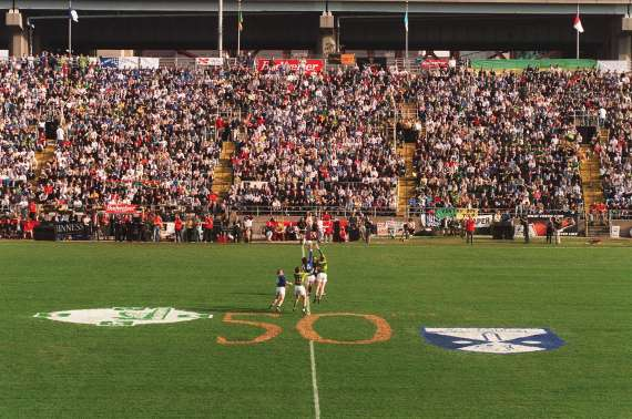 1997 National Football league game - Kerry v Cavan in Randall's Island New York