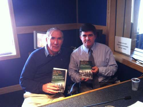 Author Tim Horgan in studio